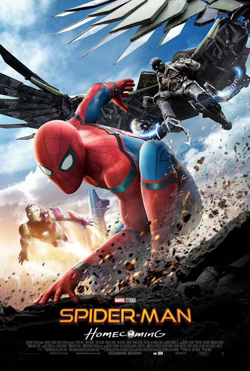 New Spider-Man: Homecoming poster (Sony Pictures)