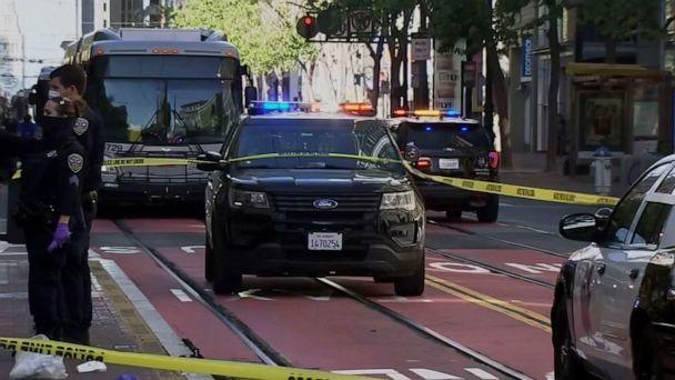 PHOTO: Two Asian American women were stabbed in downtown San Francisco on May 4, 2021. (KGO)