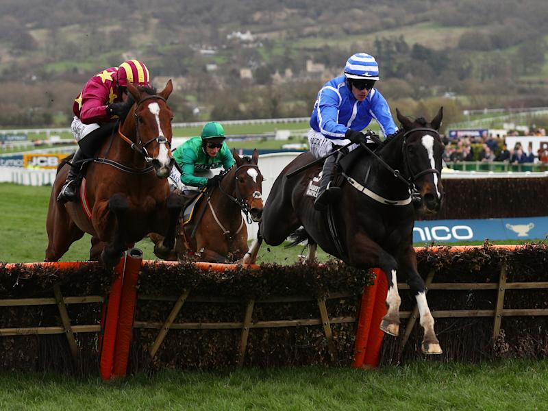 Penhill earned back to back wins for Willie Mullins and Paul Townend: Getty
