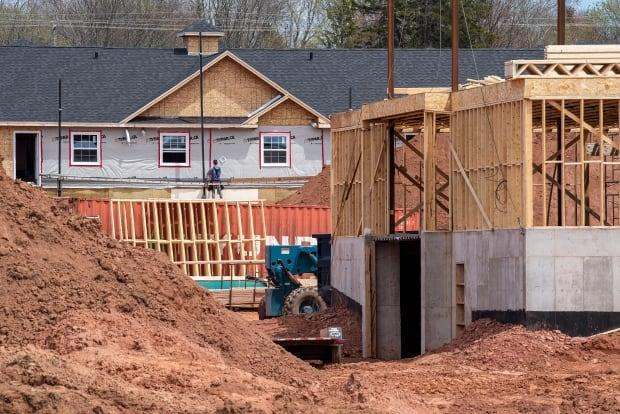 Suppliers and construction contractors are working to meet the demand on P.E.I. (Brian McInnis/CBC - image credit)