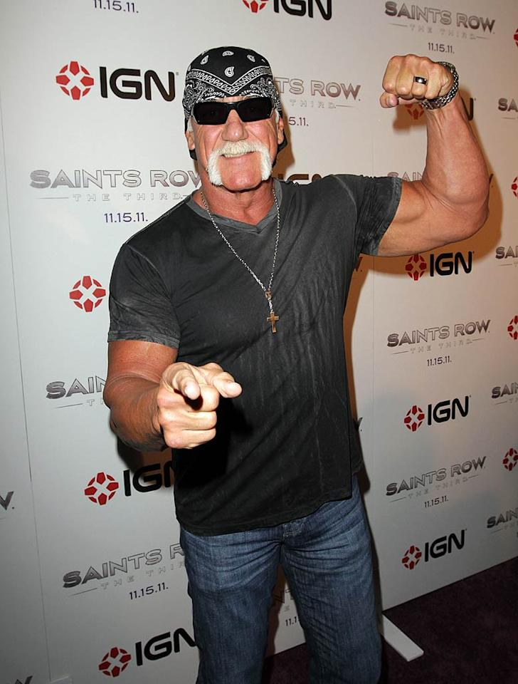 "Wrestler Hulk Hogan turns 58. Richie Buxo/<a href=""http://www.splashnewsonline.com"" target=""new"">Splash News</a> - July 12, 2011"