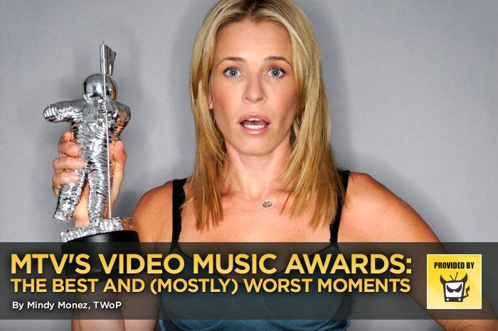 """Wow, what a lackluster VMAs MTV gave us this year. Believe it or not, we did find a few good moments, but the majority of the show was just bad, bad, bad. And we're pretty sure that for once, that's not just because we're too damn old for this sort of thing. (Though we are so very old — we just broke our hips typing!) — <a href=""""http://www.televisionwithoutpity.com"""" rel=""""nofollow"""">Television Without Pity</a> <a href=""""http://twitter.com/home/?status=MTV VMAs: The Best and Worst Moments (via @YahooTV) http://yhoo.it/cnXX3r"""" rel=""""nofollow"""">[Share this on Twitter]</a>"""