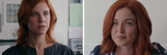 """""""Workin' Moms"""" character Anne (left) and Carly (right)"""