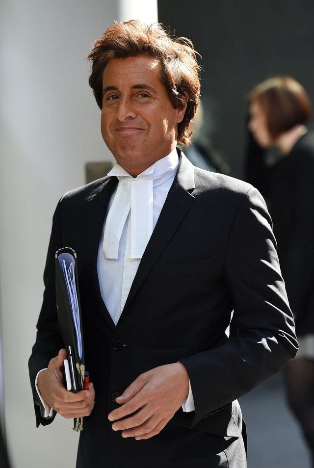 Barrister David Sherborne, is lead counsel for Johnny Depp (Andrew Matthews/PA Archive/PA Images)