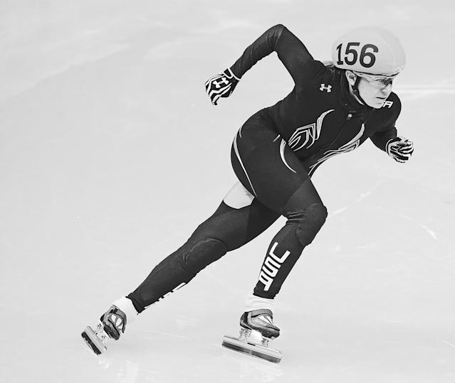 Olympic short track speed skater Jessica Smith-Kooreman. (Photo: AP Images)