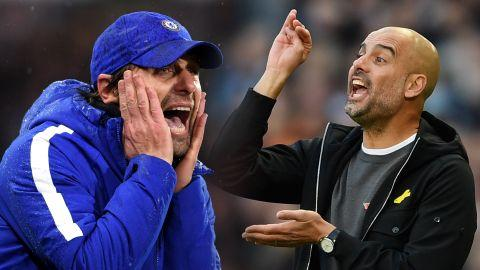 Antonio Conte, Pep Guardiola
