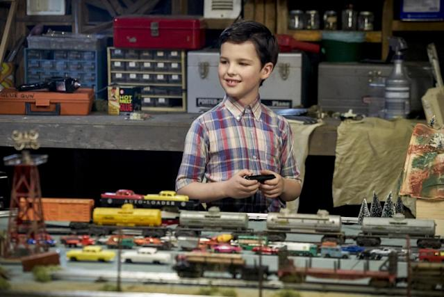 Iain Armitage as 9-year-old Sheldon Cooper in 'Young Sheldon' (Photo: Sonja Flemming/CBS)
