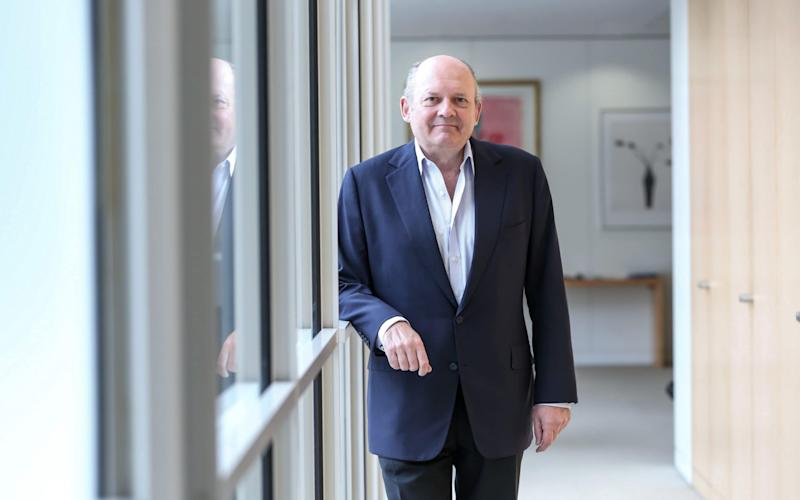 The founder of Nex Group, Michael Spencer, could be in line for a £650m payout if predictions of the sale price are correct - TMG/TMG