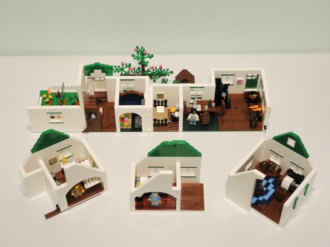 "<p>The interior of the house features 3 bedrooms, a sewing room, kitchen, dining room, a parlour and a hallway. Photo from <a rel=""nofollow"" href=""https://ideas.lego.com/projects/161852"">Brick Barn on Lego Ideas </a> </p>"