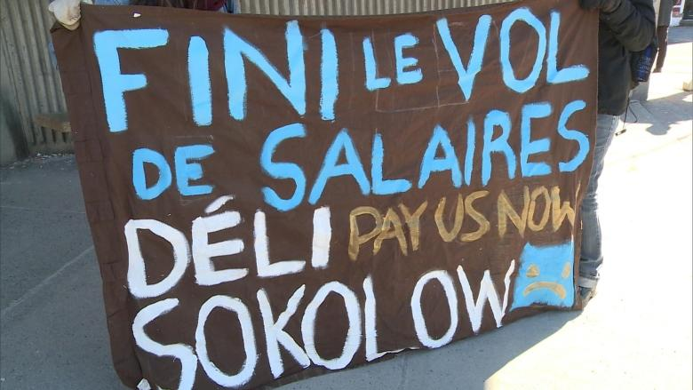 Former employees of insolvent Saint-Henri deli want to get paid