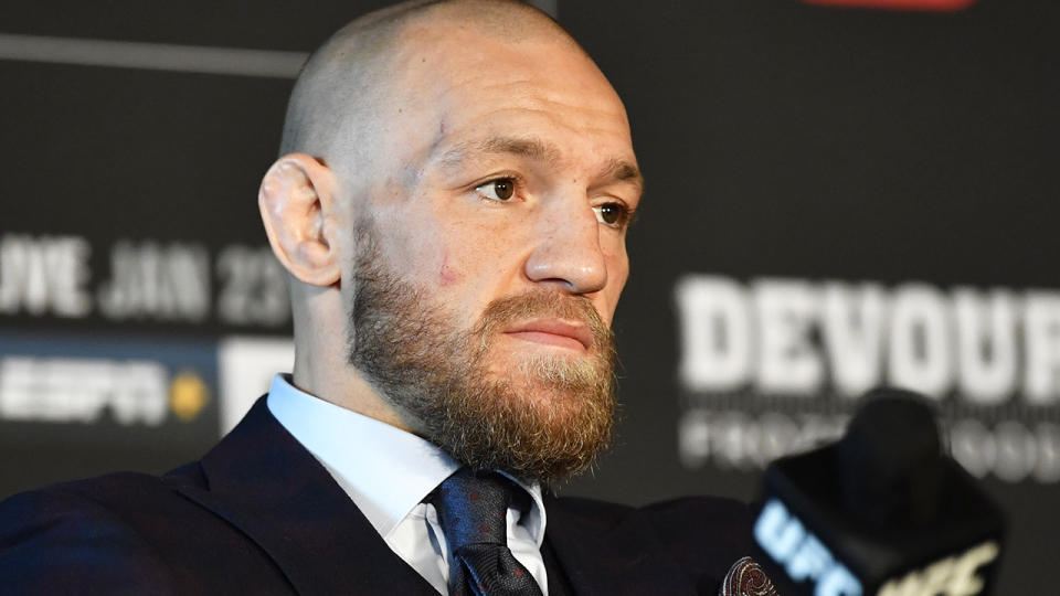UFC great Conor McGregor has been accused of skipping out on a promise to donate more than $650,000 to rival Dustin Poirier's charity. (Photo by Chris Unger/Zuffa LLC)