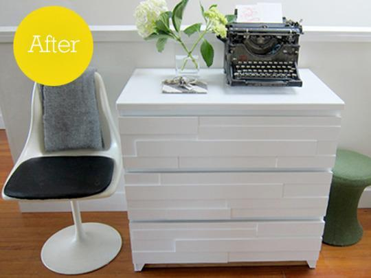 11 incredible ikea malm dresser hacks for Ikea schreibtisch malm weiay