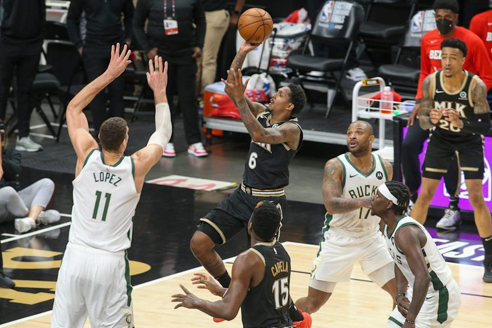 Lou Williams had 21 points in Game 4 after scoring 13 combined in Games 1-3.