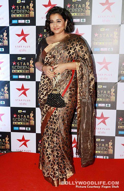 <p>Although this Raw Mango saree is beautiful, something doesn't seem to be working in this outfit. It could be the boring black blouse or the faux bob, what do you think? </p>