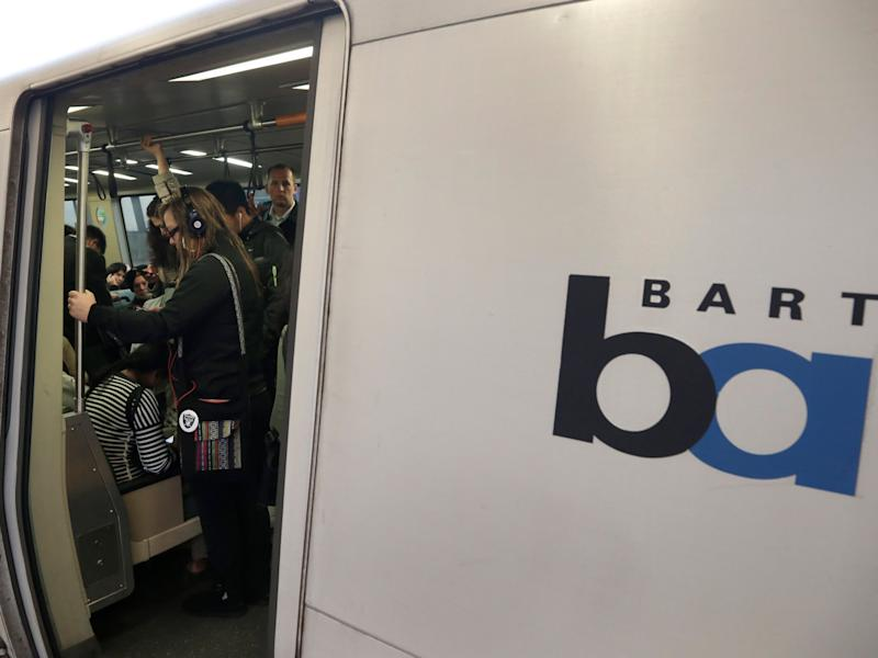 Up To 60 Robbers Storm BART Train In Flash Mob Hold-Up