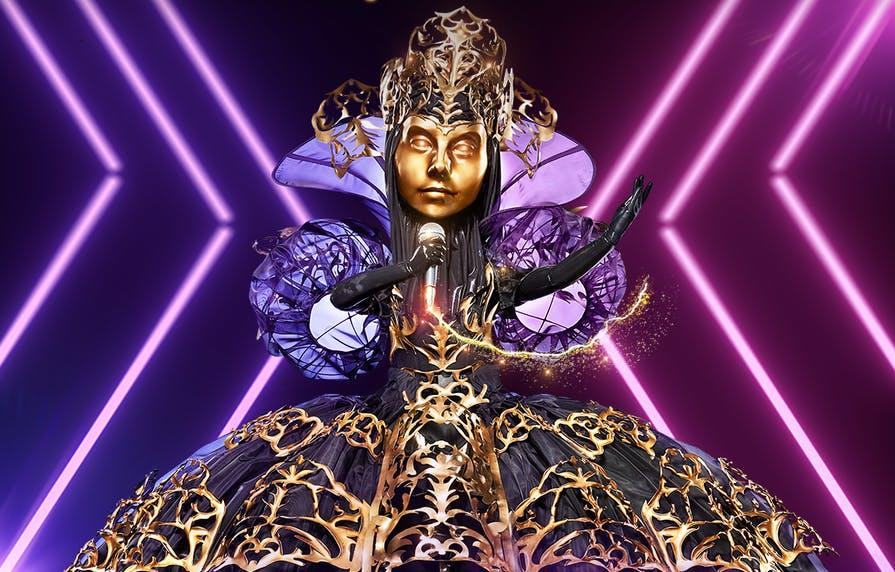 the masked singer who is the queen
