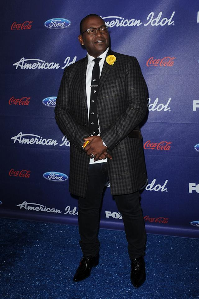 """Randy Jackson attends the Season 11 """"<a href=""""http://tv.yahoo.com/american-idol/show/34934"""">American Idol</a>"""" Top 13 Finalists Party on Thursday, March 1 at The Grove in Los Angeles, CA."""