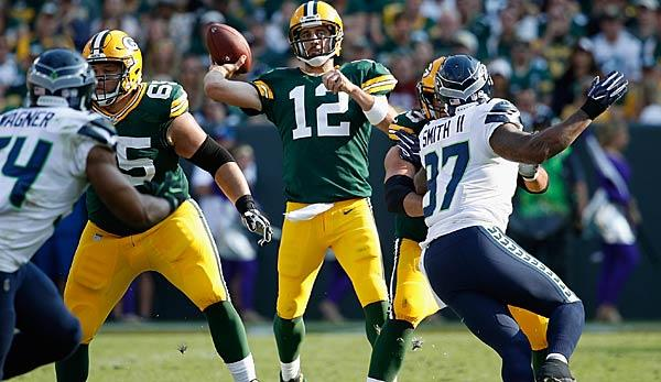 NFL: Week 1: Packers schlagen Seattle - Jaguars-Rekord