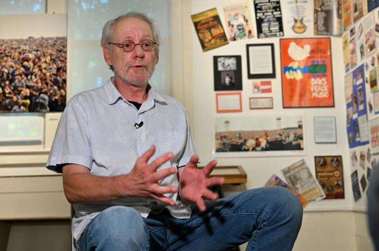 Richard Heppner, 67 anos, historiador local de Woodstock