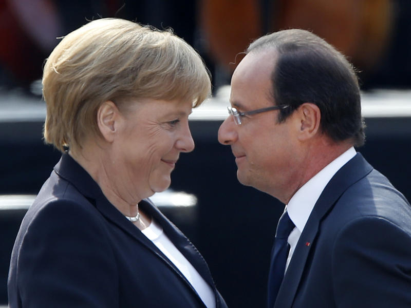 German, French leaders say stronger Europe needed