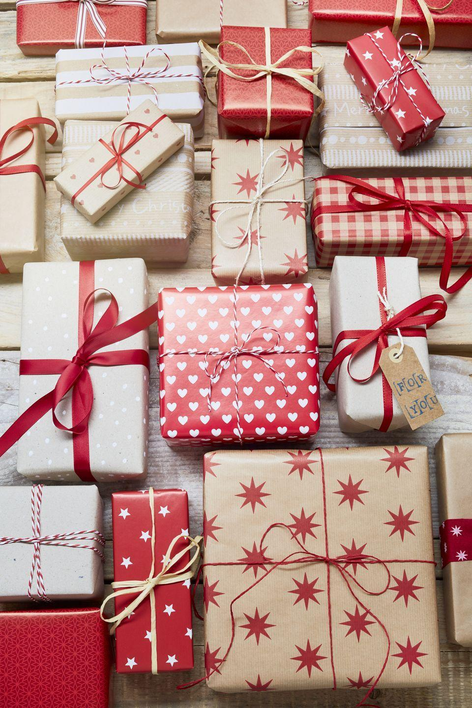 "<p>For big families or groups of friends, consider starting a <a href=""https://www.countryliving.com/uk/create/craft/a25305281/plastic-free-secret-santa-gifts/"" rel=""nofollow noopener"" target=""_blank"" data-ylk=""slk:Secret Santa"" class=""link rapid-noclick-resp"">Secret Santa</a> tradition where each person picks another's name at random and focuses on their gift only (instead of everyone buying for everybody). This way, you can put more thought, money, and time into finding them something they'll truly love. Plus, it's fun to see the surprised looks when recipients try to guess who their mystery gift giver is. </p>"