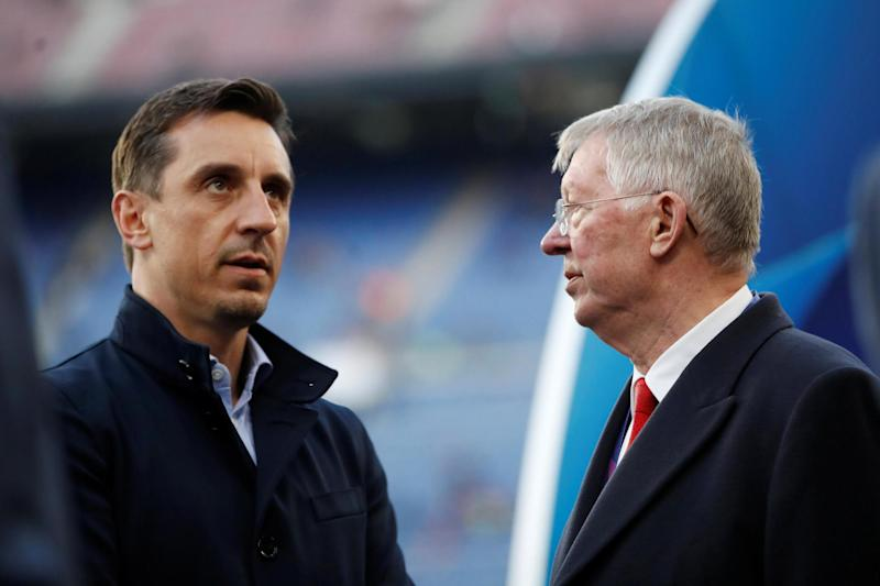 'Furious and embarrassed' Gary Neville attacks Man Utd stars after 'rancid' 4-0 Everton defeat