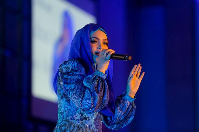Siti Nurhaliza among the headlining acts for the Malaysia Day Countdown Unity Concert this Saturday. — Picture by Choo Choy May