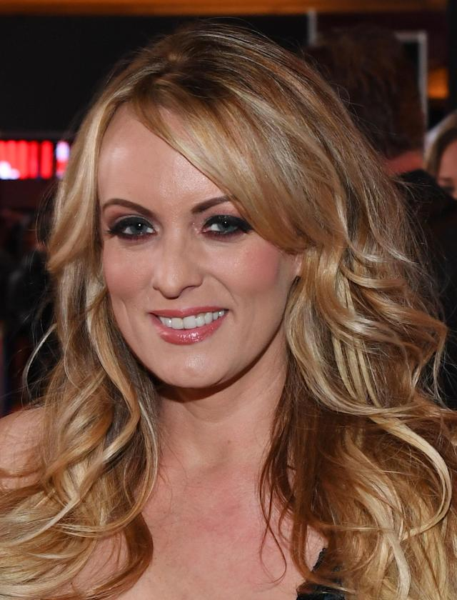 Stormy Daniels passed a lie detector test on whether she slept with Donald Trump in 2006. (Photo: Getty Images)
