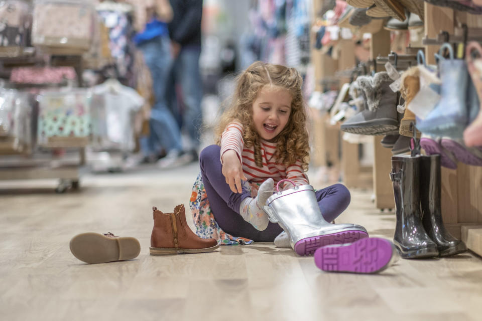 Great news for fast growing children. (Getty Images)
