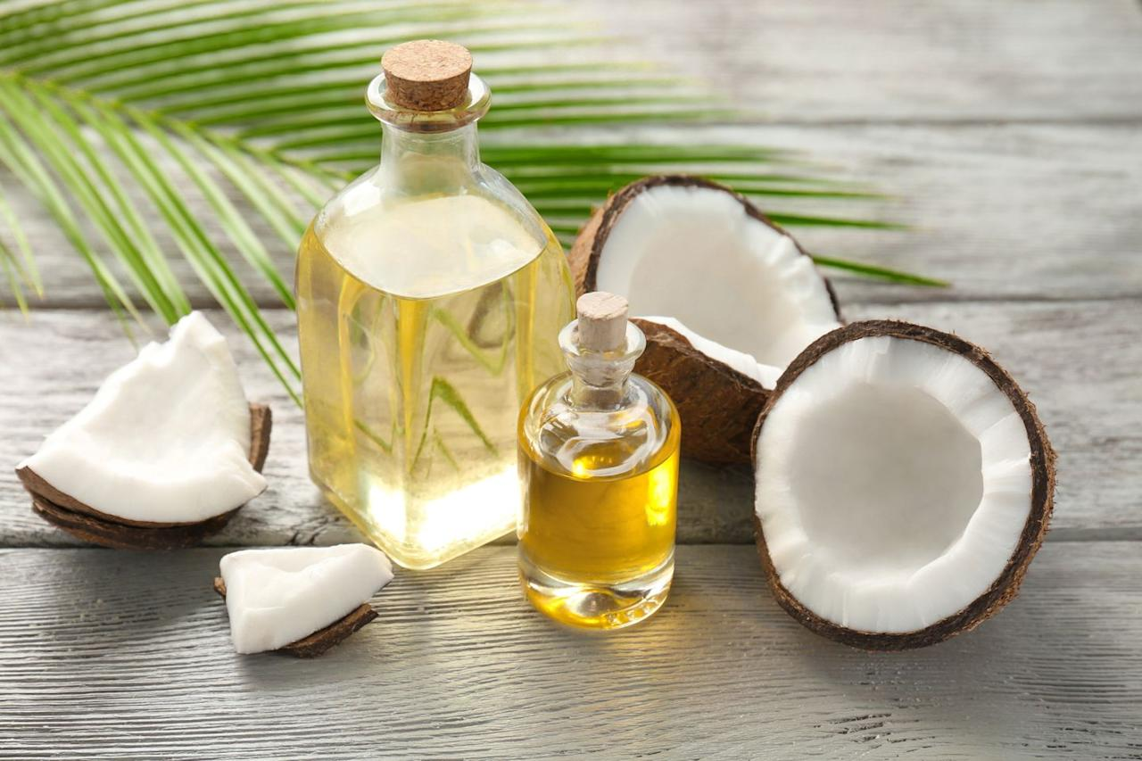 """<p>Usually, when you see coconut oil in liquid form, it's just because a jar of the solid stuff has warmed up enough to melt, says dietitian Jessica Cording, RD, author of <a href=""""https://www.amazon.com/Little-Book-Game-Changers-Managing/dp/163228068X/ref=sr_1_2?keywords=The+Little+Book+Of+Game-Changers&qid=1556551777&s=gateway&sr=8-2"""" target=""""_blank""""><em>The Little Book of Game-Changers</em></a>.</p><p>A bottle of coconut oil that's <em>always</em> liquid, though, can mean one of two things: Either the company removed the fats that make coconut oil solid at a room temperature, or they blended it with other oils to help make it liquid. </p><p>Solid coconut oil is usually purer and has a longer shelf life (two-plus years), says Rumsey. Still, liquid coconut oil can come in handy when you want to whip up a quick salad dressing or marinade.<br></p><p>Don't want to worry about the guess-work? Here are a few of the best coconut oils to try.</p>"""