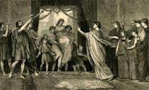 <p>Many believe that the concept of a bridal party originated in Ancient Rome, where a wedding needed to have 10 witnesses for the marriage to be legal. </p>