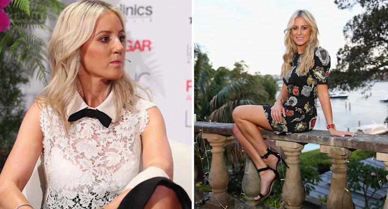 Roxy Jacenko pictured as she exposes woman who pooed outside her Sydney business several times.