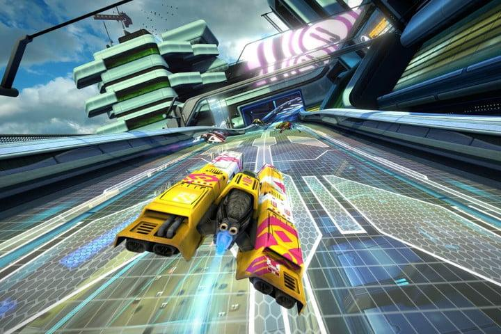 wipeout omega collection bundles three classic sci fi racers for ps4