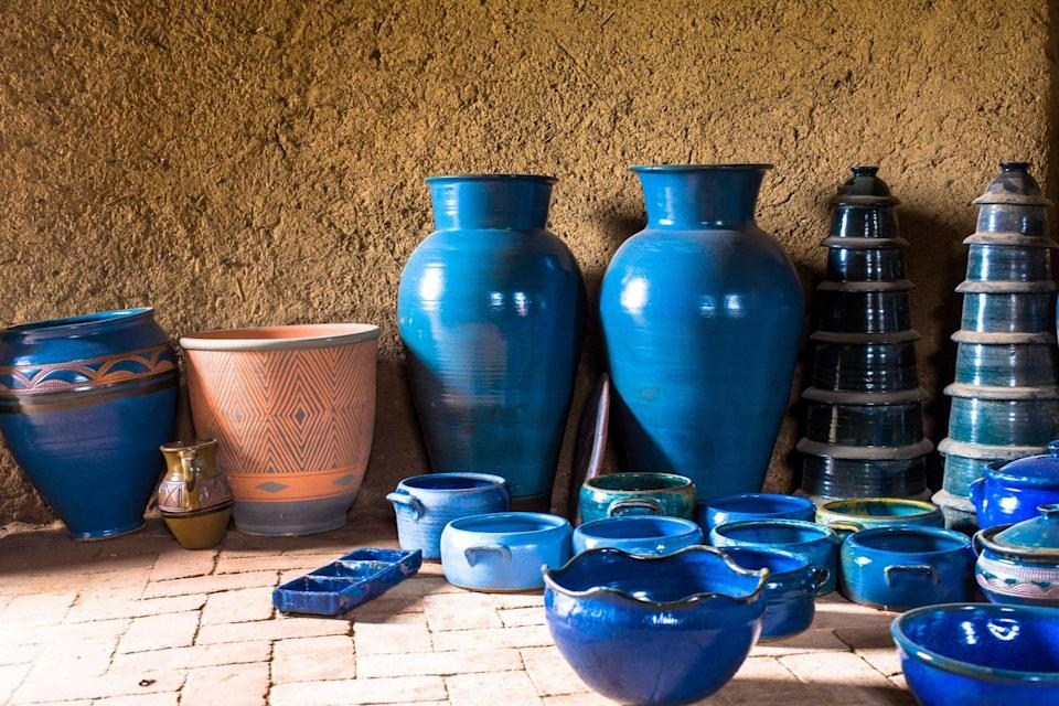 "<p>Vintage kitchenware like Pyrex can go for thousands, but if you happen across antique-looking pottery you also might want to snap it up. In 2013, a 1,000-year old Chinese bowl bought for <a href=""https://edition.cnn.com/2013/03/20/business/sothebys-china-bowl/index.html"" rel=""nofollow noopener"" target=""_blank"" data-ylk=""slk:$3 at a yard sale"" class=""link rapid-noclick-resp"">$3 at a yard sale</a> was auctioned off for more than $2 million.</p>"