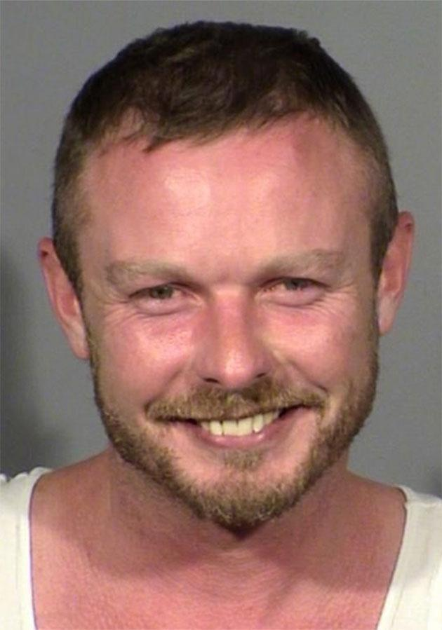 The mugshot of Jesse Webb. Source: Las Vegas Metropolitan Police Depertment
