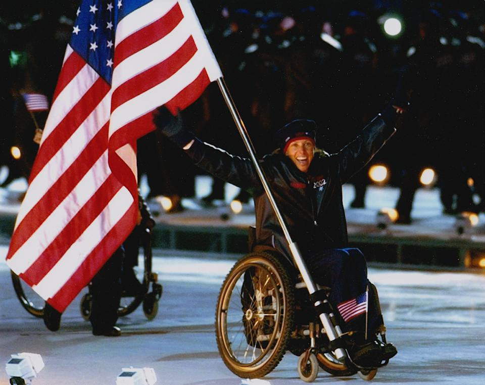 Candace Cable became a giant in adaptive sports, winning 12 Paralympic medals.