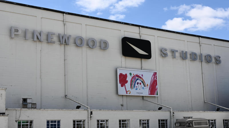 Pinewood Studios is showing its support for NHS frontline staff during the coronavirus pandemic. (Credit: Pinewood Group)