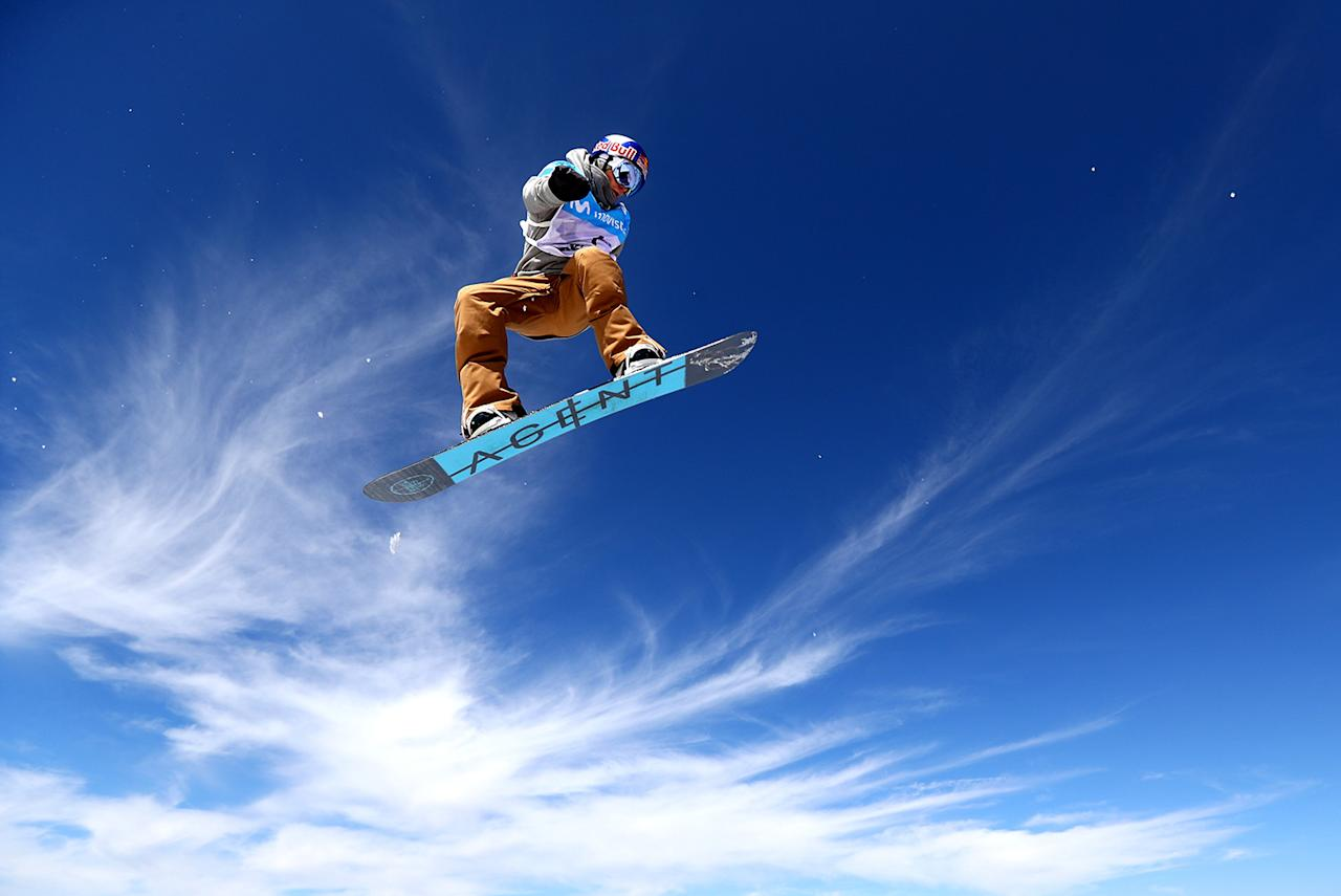 <p>Seppe Smits of Belgium competes during the Women's Slopestyle Final on day four of the FIS Freestyle Ski and Snowboard World Championships 2017 on March 11, 2017 in Sierra Nevada, Spain. (Photo: Clive Rose/Getty Images) </p>