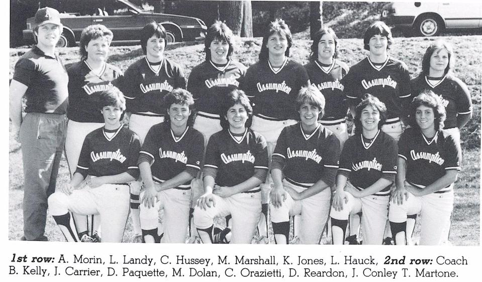 Brian Kelly went 64-54 in four seasons as the Assumption College's softball coach. (Photo courtesy of Assumption College)