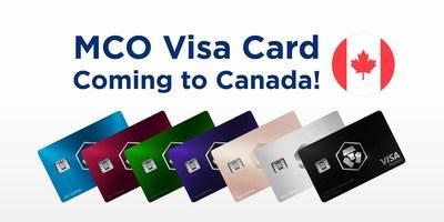 Crypto.com is preparing to roll out the MCO Visa Card program in Canada (PRNewsfoto/Crypto.com)