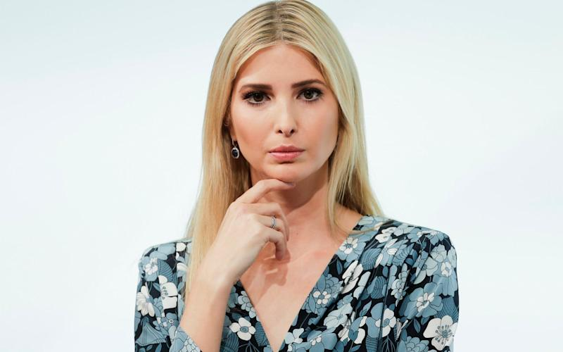Ivanka Trump at this week's W20 summit in Berlin, where she was booed - AP