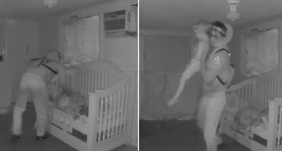Chilling vision revealed the moment Cash Gernon was taken from his bed.