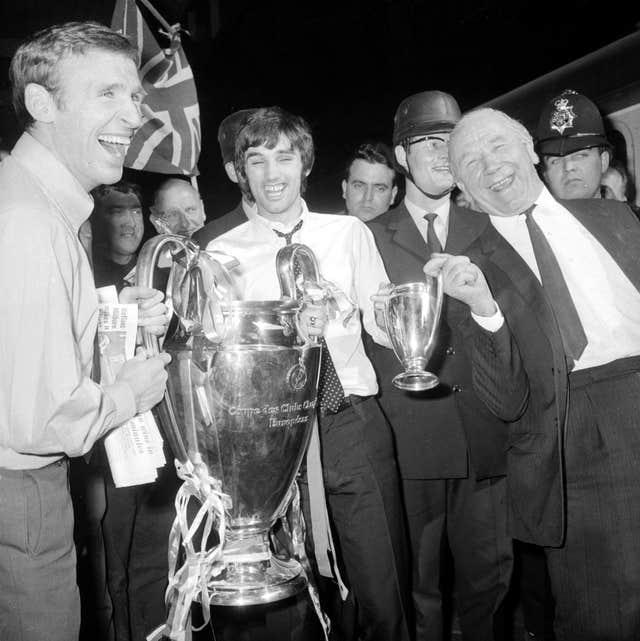 Manchester United win the European Cup in 1958