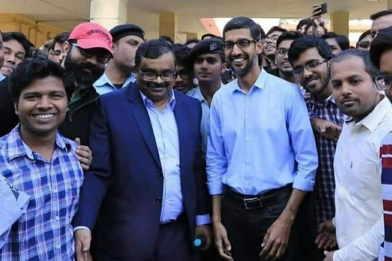 Real Or Fake: Did Sundar Pichai Really Cast His Vote In Tamil Nadu Yesterday?