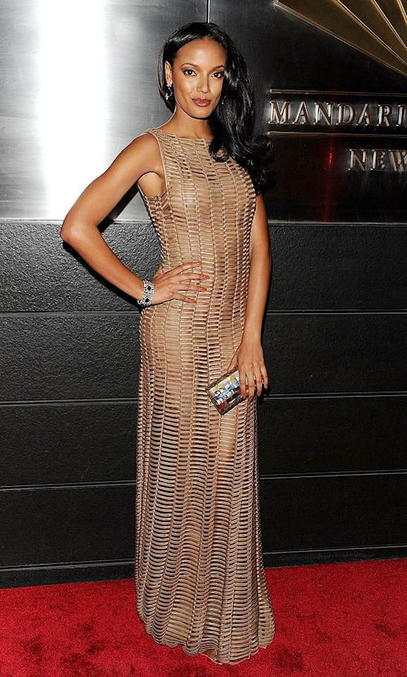 """She may have just been booted from the current season of """"Celebrity Apprentice,"""" but that didn't stop model Selita Ebanks from flaunting her fabulous figure at the 7th Annual New Yorkers for Children charity event in a form-fitting, woven, floor-length gown. Andrew H. Walker/<a href=""""http://www.gettyimages.com/"""" target=""""new"""">GettyImages.com</a> - April 8, 2010"""