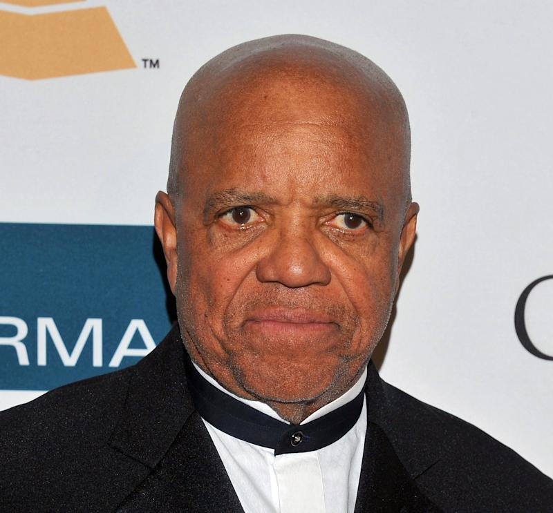 "FILE - This Feb. 11, 2012 file photo shows Motown Records founder Berry Gordy Jr. arriving at the Pre-GRAMMY Gala & Salute to Industry Icons with Clive Davis honoring Richard Branson in Beverly Hills, Calif. A musical based on the life of legendary Motown Records founder Berry Gordy is set to open on Broadway next year. Producers said Tuesday, June 26, that ""Motown,"" with 81-year-old Gordy writing his own book, will open in the spring of 2013 at a Nederlander Theatre to be announced. It will be directed by Charles Randolph-Wright.  (AP Photo/Vince Bucci, file)"