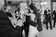 No matter how small the wedding…hire a band! Here we are during our first dance…or perhaps our last dance...this part of the night is very blurry.