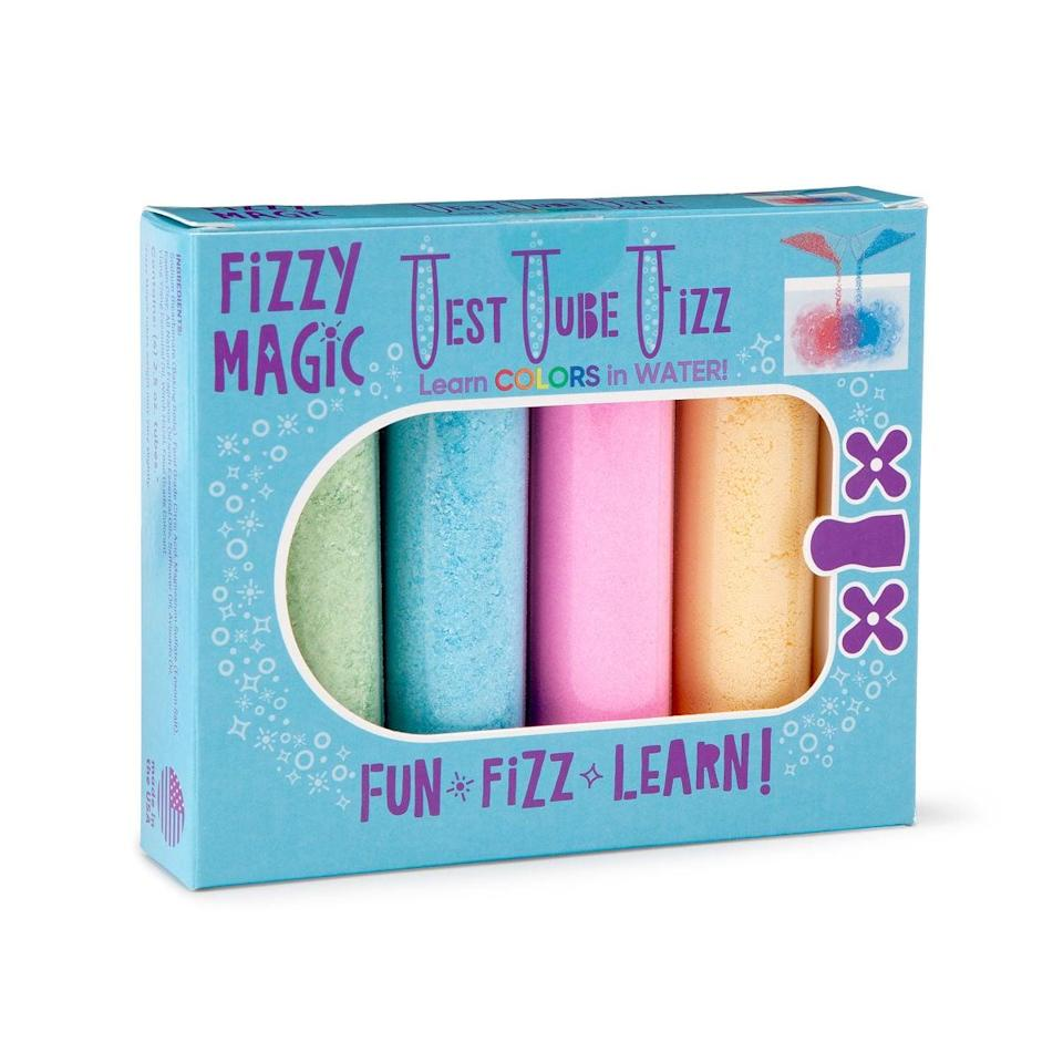 <p>Taking a bath will be fun and relaxing with these <span>Color Changing Test Tube Bath Fizzies</span> ($12).</p>