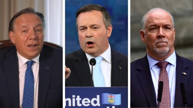 Kenney's election win prompts reactions from B.C., Quebec, Ontario leaders