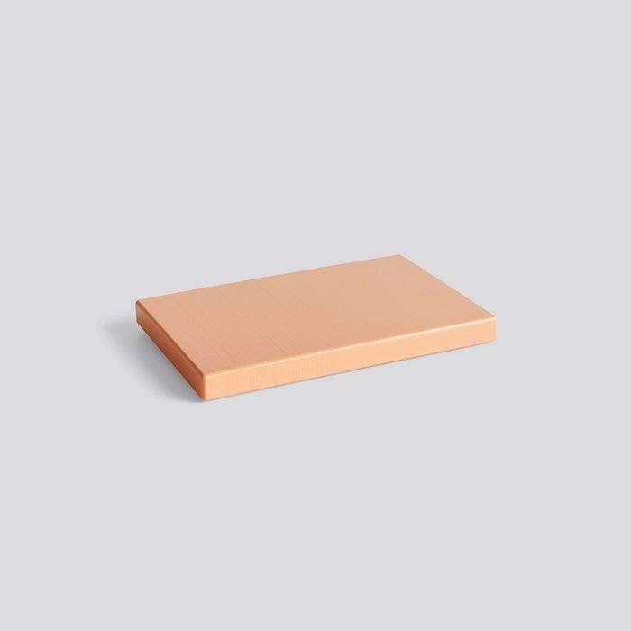 """<br><br><strong>Hay</strong> Chopping Board In Peach, $, available at <a href=""""https://hay.dk/en-gb/hay/accessories-brand/kitchen-market-brand-778f63b3/cooking-brand/chopping-board-rectangular-m-peach"""" rel=""""nofollow noopener"""" target=""""_blank"""" data-ylk=""""slk:Hay"""" class=""""link rapid-noclick-resp"""">Hay</a>"""